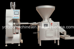 Vacuum Stuffing Machine to Make Sausage with Various Casings pictures & photos