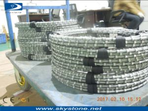 Granite Blocks Cutting Diamond Wire Saw pictures & photos