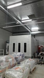 European Design Spray Painting Booth pictures & photos