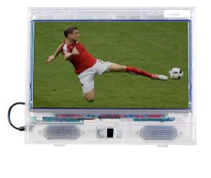 18.5-Inch Full HD LED Transparent TV for Prison Jail pictures & photos