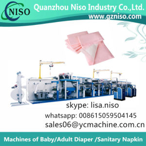 Disposable Underpad Machine of Hospital Medical/Surgical/Nursing Home/Pet Pad pictures & photos