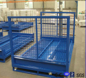 EU Market Storage Metal Wire Mesh Box/Container pictures & photos
