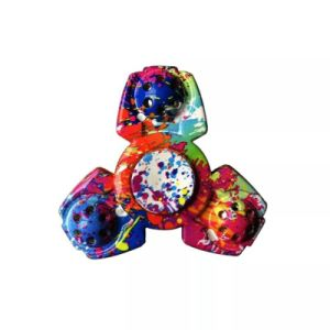Colorful Fidget Spinner Turning 2 Mins pictures & photos