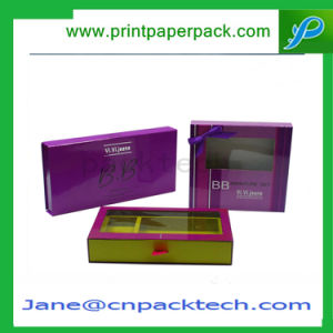 Cosmetic Packaging Boxes Perfume Box PVC Paper Window Gift Box pictures & photos