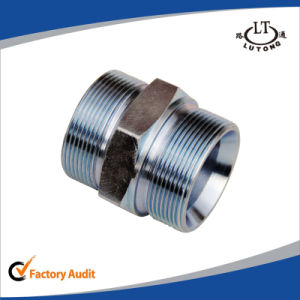 Nptf Male One Piece Parker Pipe Fittings pictures & photos