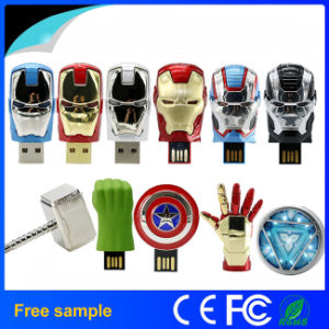 American Shield/Hulk Hand/Hammer/Avengers Pen Drive Memory Stick pictures & photos