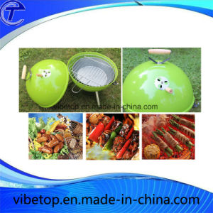 Round Shape Home Use Mini Charcoal Grill Oven pictures & photos