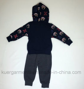 Printed Fashion Boy Suit, Nice Style Kids Clothes pictures & photos