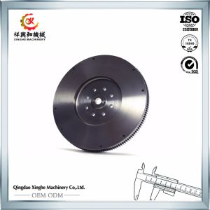 Sand Casting Ductile/Gray Iron Shell Cast Iron Flywheel pictures & photos