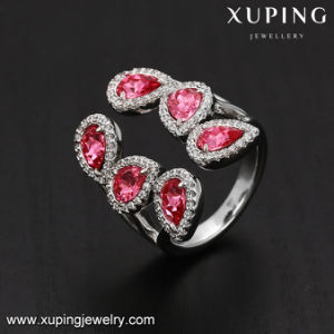 14274 Fashion Rose Stone Stylish Women Ring with Crystals From Swarovski Jewelry pictures & photos