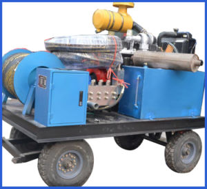 High Pressure Water Jet Drain Pipe Washing Machine pictures & photos