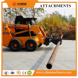 Skid Steer Loader Attachment Rotating Wire Pole Clamp pictures & photos
