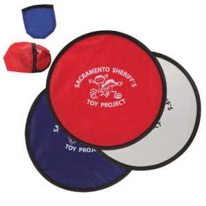 2017 Hot Sale Brand New Customized Logo Foldable Nylon Frisbee pictures & photos