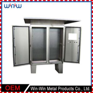 Outdoor Stainless steel Waterproof Metal Electrical Fiber Junction Box pictures & photos
