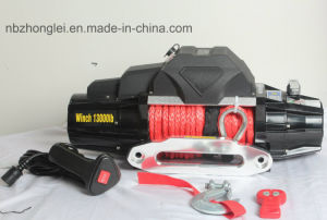 SUV 4X4 Power Winch with Wireless Remote Control Kit (13000LB) pictures & photos