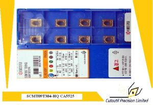 Kyocera Scmt09t304-Hq Ca5525  Turning Insert for Turning Tool Carbide Insert pictures & photos