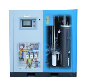 Industrial Oil Fooled Rotary Screw Stationary Air Cooling Compressor (KB22-13) pictures & photos