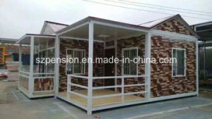 Low Profit High Quality Good Holiday with Mobile Prefabricated/Prefab Container House/Villa pictures & photos