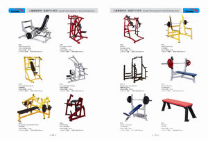 ISO Lateral Super Incline Press, Fitness Gym Hammer Strength Equipment pictures & photos