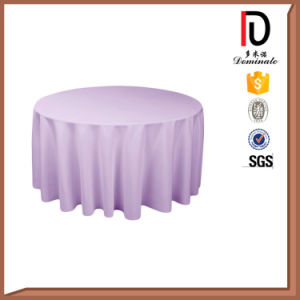 6FT Economical High Quality Linen Round Table Cloth (BR-TC033) pictures & photos