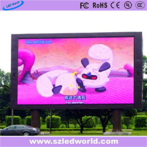P10 DIP Outdoor Full Color Fixed LED Display Panel for Advertising pictures & photos
