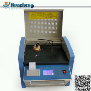 Alibaba China Supply Transformer Oil Relative Permittivity Dielectric Loss Tester pictures & photos