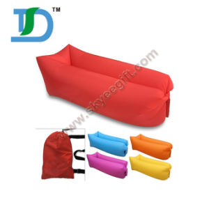 Hot Hangout Banana Air Spleeping Bag Shape Inflatable Sofa Bed pictures & photos