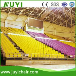 Floor Mounted Telescopic Seats Retractable Seating Gym Bleacher Seating System Jy-769 pictures & photos