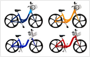 24′′ 26′′ Public City Bike Sharing System/Bicycle Popular Style for Rental/ Shaft Drive City Public Bicycle with Top Quality pictures & photos
