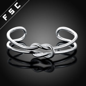 Knot Infinity Adjustable Open Cuffs Bracelet Bangles for Women pictures & photos