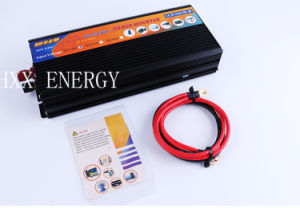 2000W Pure Sine Wave Solar Power Inverter DC 12V to AC 220V Digital Display. pictures & photos