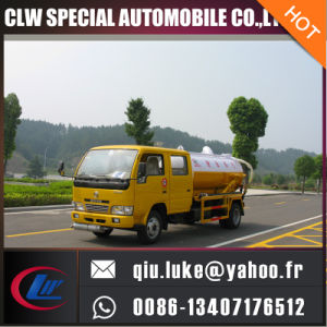 Dongfeng Vacuum Sewage Truck for Sale pictures & photos