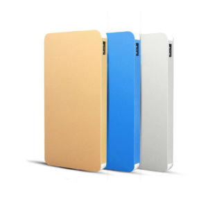 8000mAh Super Slim Metal Texture Power Bank for Smart Phone Charger pictures & photos