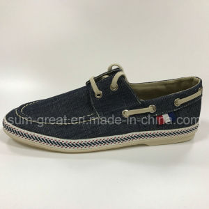 2016 Men′ S Fashion Boat Shoes Loafers with Shoes Lace pictures & photos