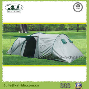 Big Family Camping Tent with 2 Bedrooms 1 Living Room pictures & photos