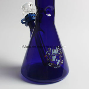 """Hfy Glass Hookah Water Pipe Colored 14"""" Illadelph Beaker Borosilicate pictures & photos"""