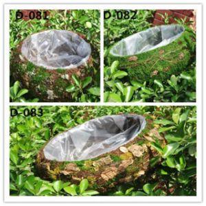 Creative Photography Prop Handmade Woven Moss Basket pictures & photos