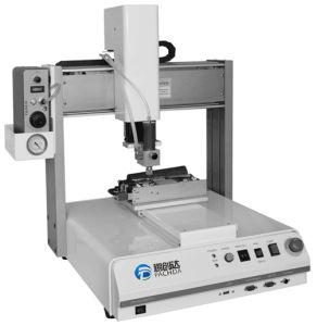Desktop Glue Dispensing Robot for Underfill Process