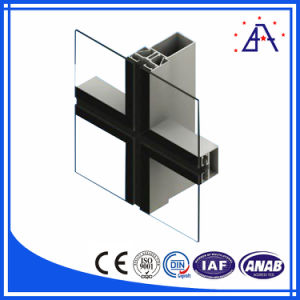Professional Manufactory 6063 Aluminum Curtain Wall/Aluminum Profile pictures & photos