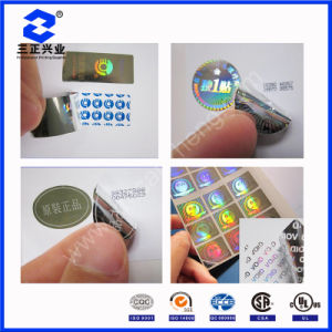 Anti Fake Security Hologram Adhesive Sticker by Laser (szxy305) pictures & photos