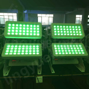 Outdoor 72X10W DMX LED Stage Wall Wash City Color Light pictures & photos
