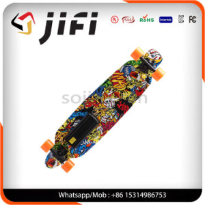 4-Wheel Electric Skateboard with Remote Control pictures & photos