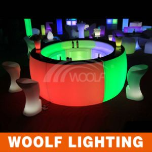 Bar Counter LED Lighted LED Round Bar Counter pictures & photos
