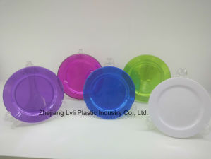 Plastic Plate, Disposable, Tableware, Tray, Dish, Colorful, PS, Transparent, PA-04 pictures & photos
