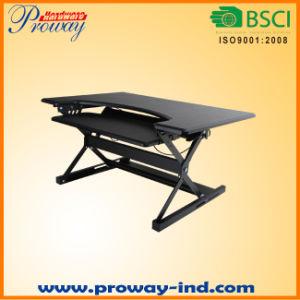 Height Adjustable Sit-Stand Desk Desktop Workstation, Standing Desk Riser pictures & photos