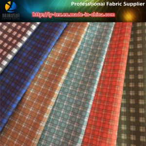 Polyester Gabardine Check Printed Textile Fabric for Workwear Shirts pictures & photos