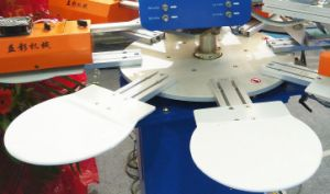 SPF Series Automatic Swimming Cap Screen Printing Machine pictures & photos
