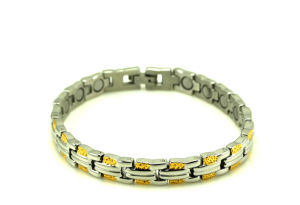 Bio Magnetic Energy Stainless Steel Energy Bracelet (CP-JS-BL-140) pictures & photos