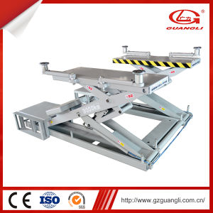 Guangli Newly-Design High Quality Stationary Hydraulic Platform Garage Equipment Car Lift pictures & photos