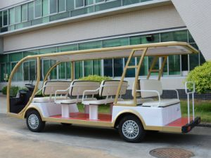 72V Battery Golf Car for 14 Seater pictures & photos